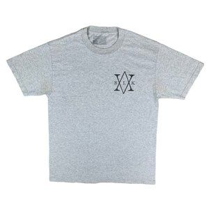 Black Scale Graphic Grey T-Shirt